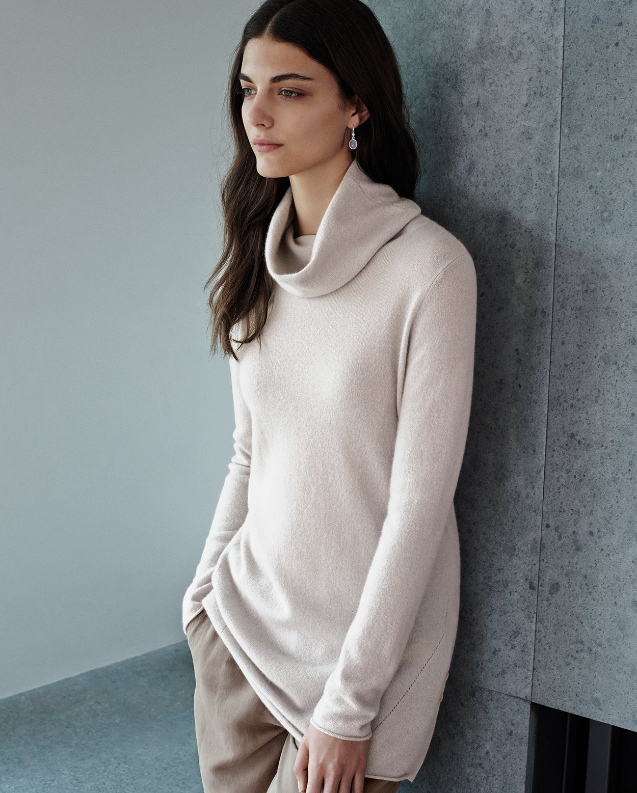 a295b6a84502 Poetry - Pure cashmere roll neck
