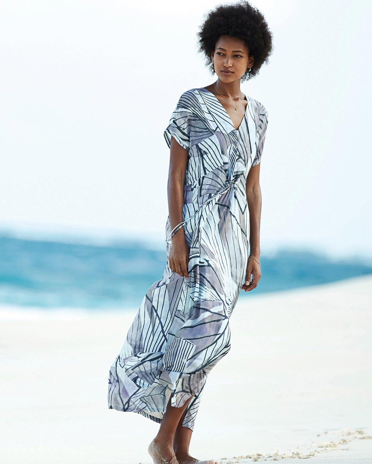 f1053bf14ab Poetry - Printed maxi dress
