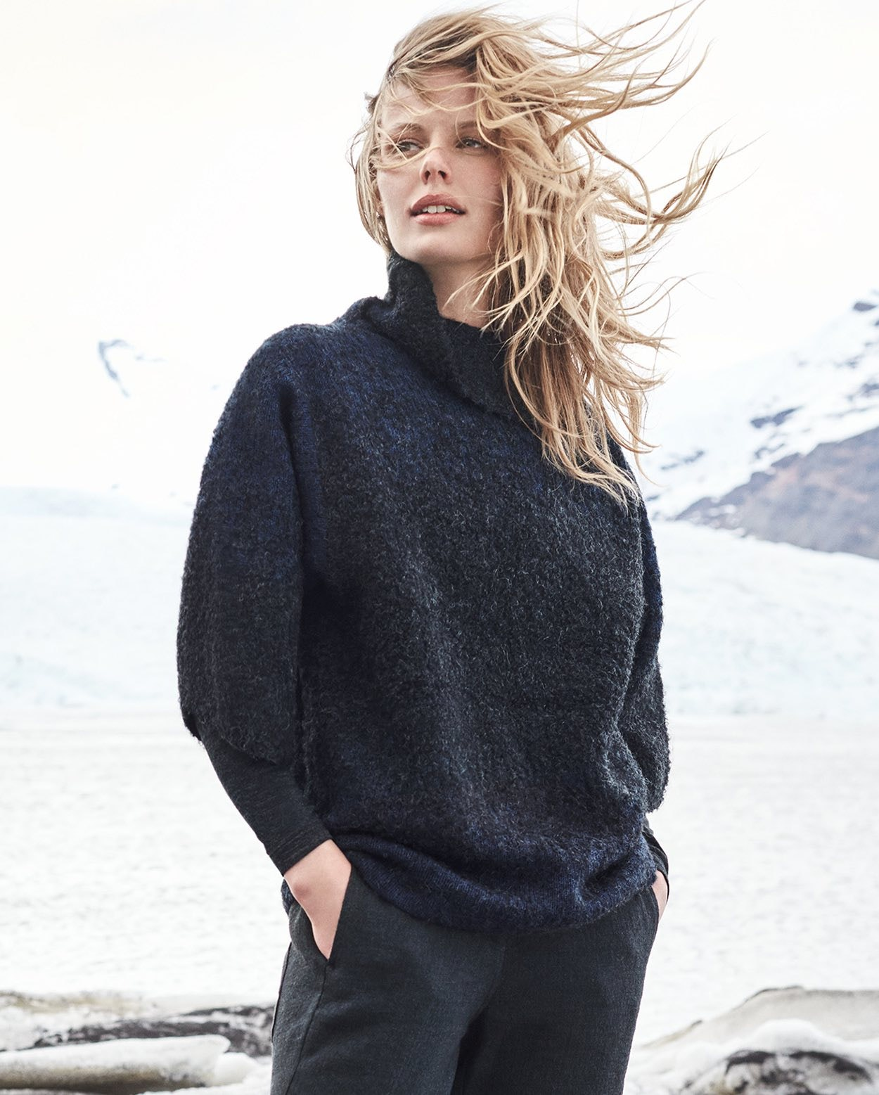 962faac90e03 Poetry - Alpaca and wool ombre-knit sweater