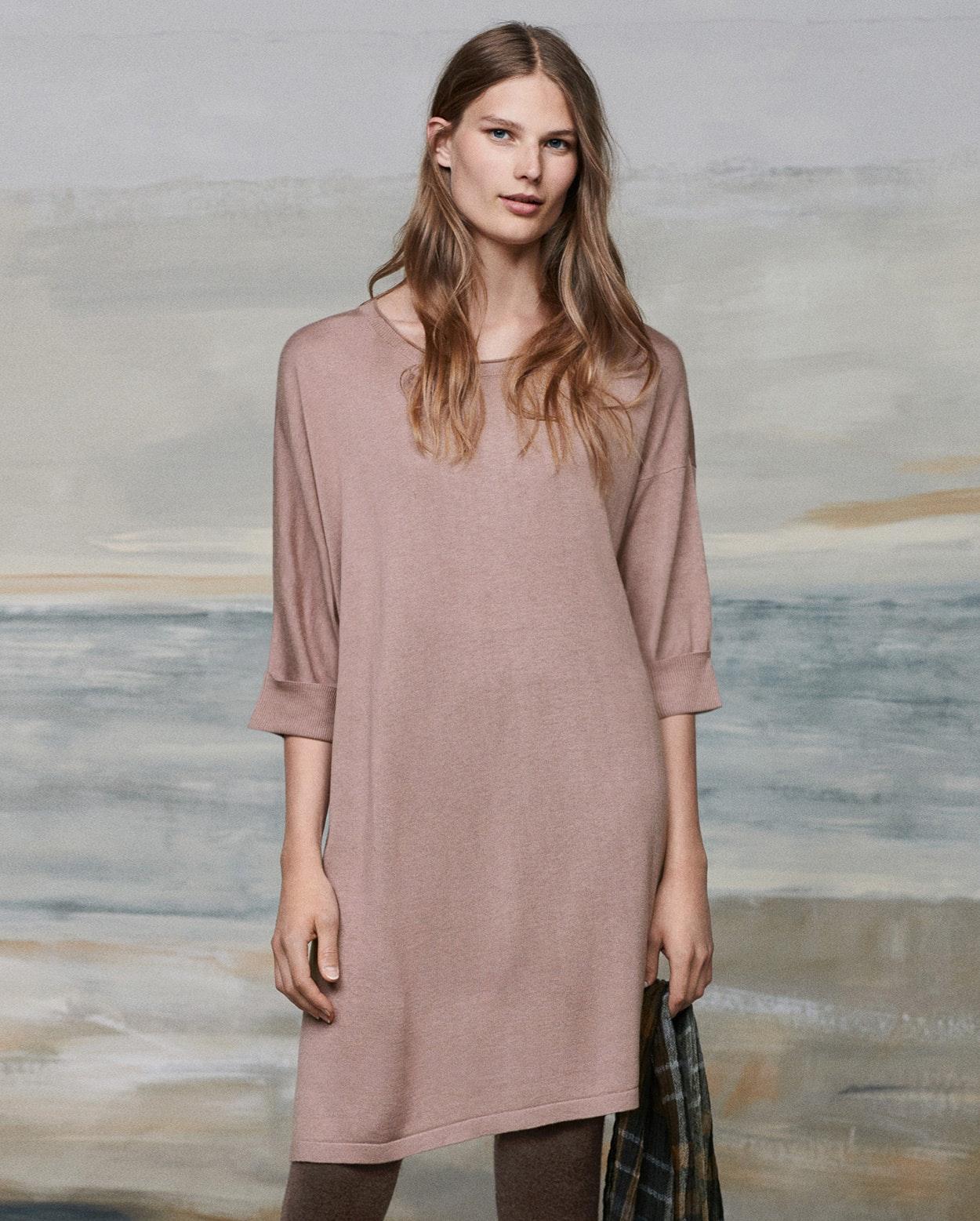 f6005f62bfb Image of Silk cashmere tunic dress