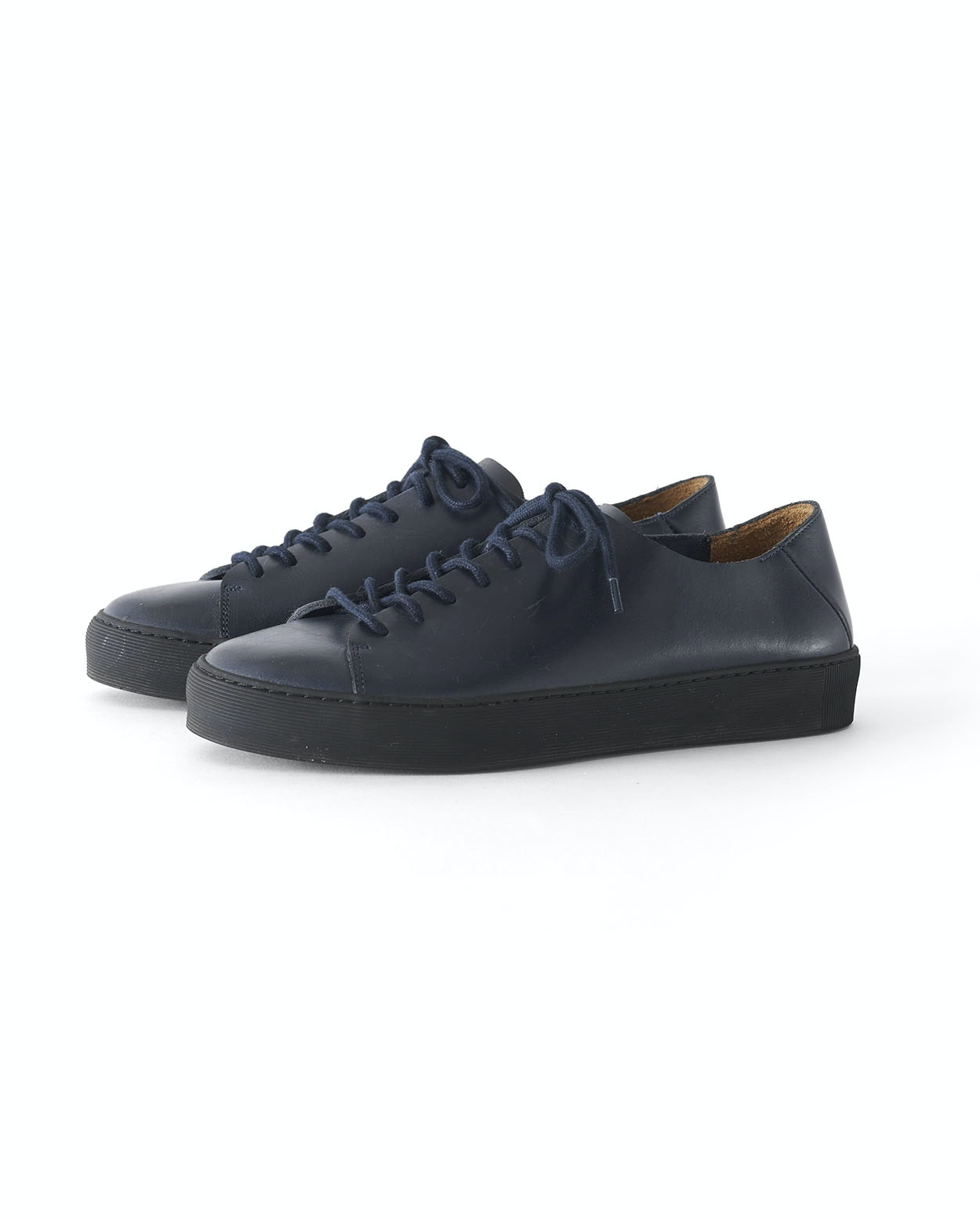 5d9d2c8625 Poetry - Blue lace-up leather trainers