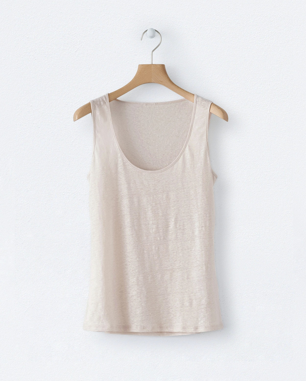 86430add6a0121 ... Product Image of Linen jersey vest ...