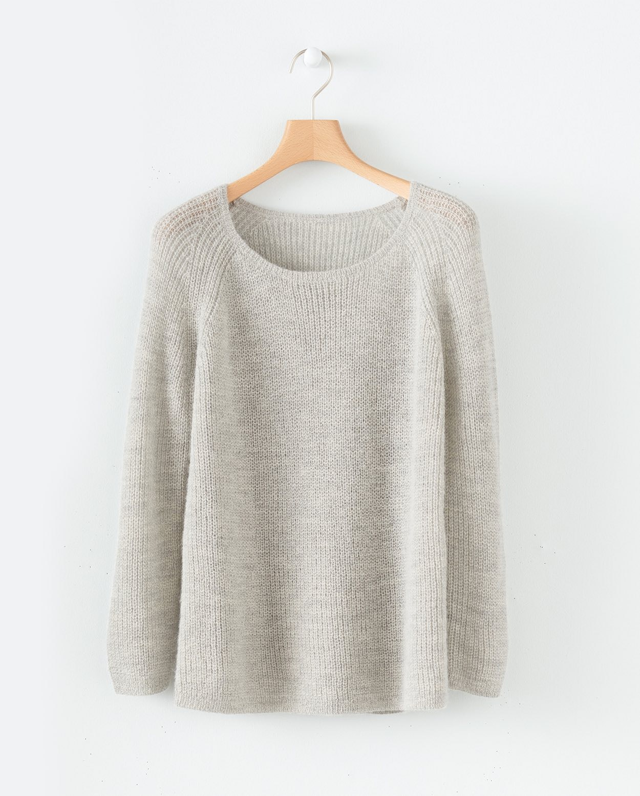 e4366579e4b5 Poetry - Baby alpaca ribbed knit sweater