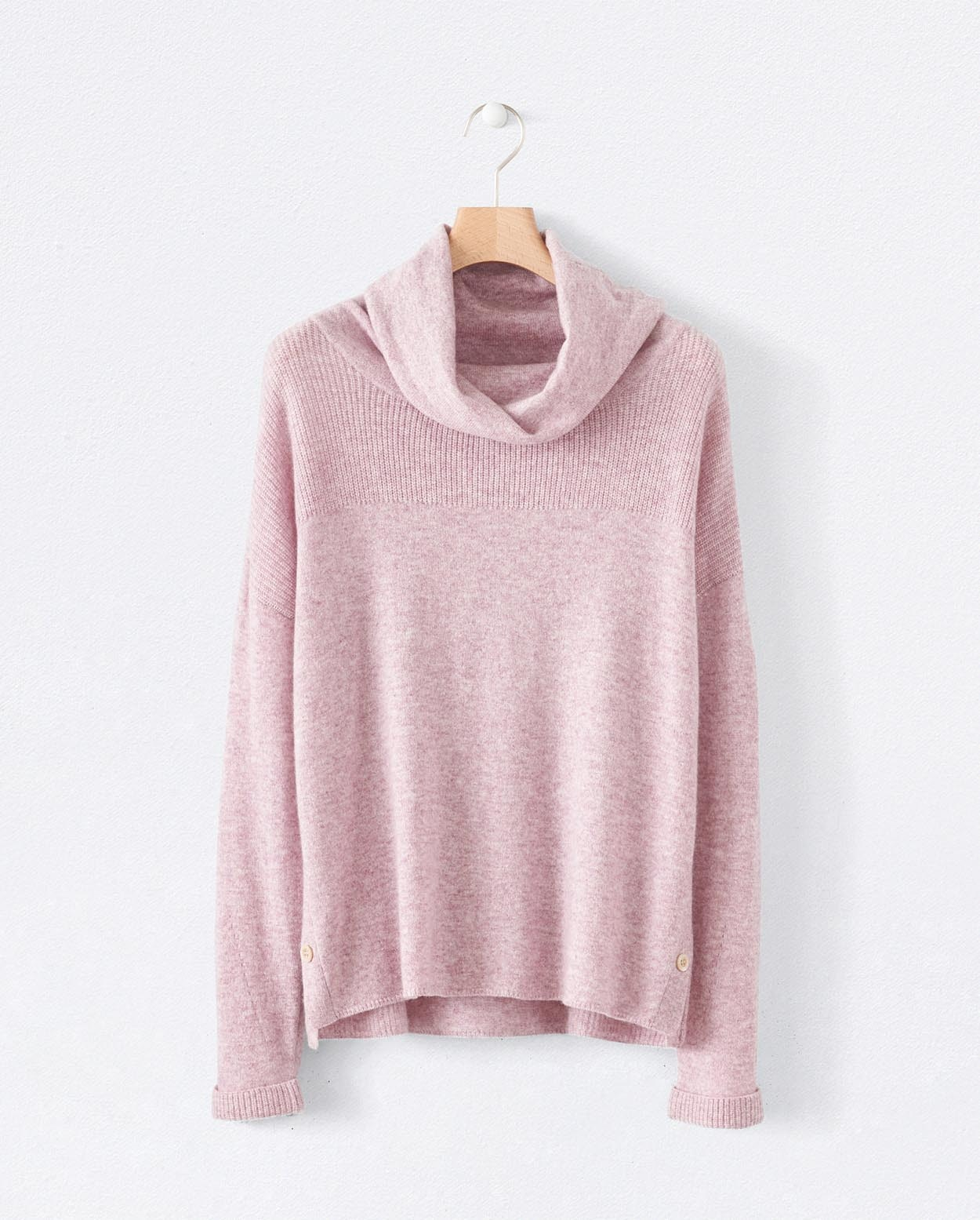 Poetry - Pure cashmere cowl-neck sweater
