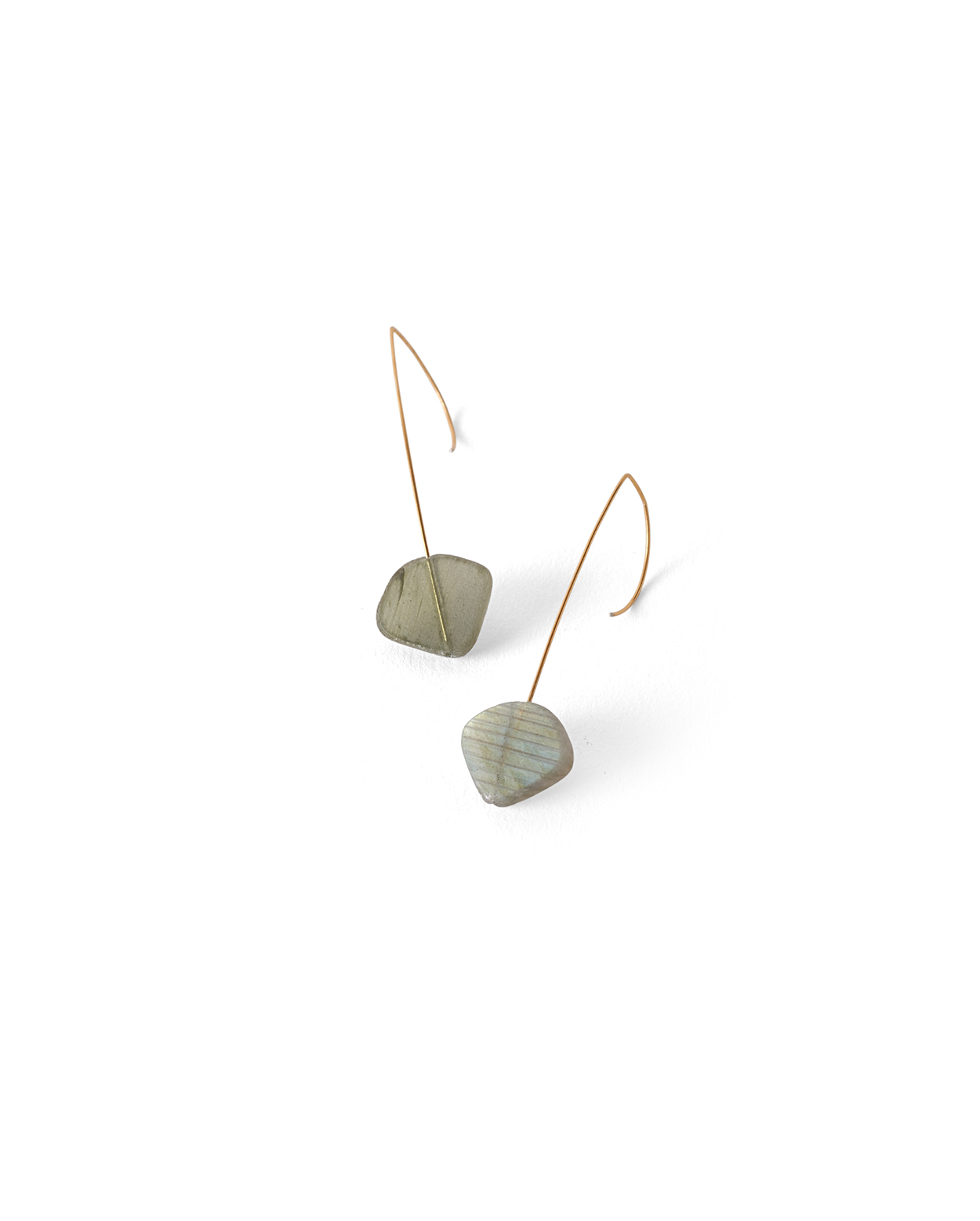 sm ted muehling side labradorite august earrings cluster hoop